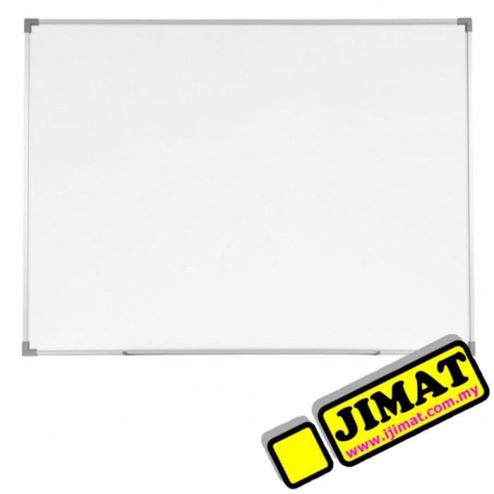 Round Aluminium Frame White Board Melamine Non Magnetic Sn23r 2