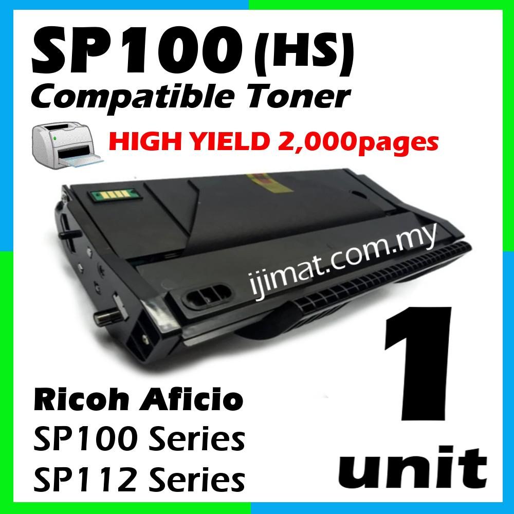 Compatible Laser Toner Ricoh Sp100 Sp112 Compatible Toner Cartridge For Ricoh Aficio Sp100 Series Sp112 Series