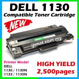 DELL 1130 / 1130N / 1133 / 1135 / 1135N Compatible Laser Toner Cartridge