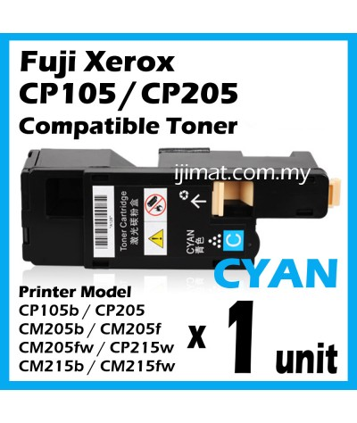 Fuji Xerox CP105 / CP205 / CP215 / CM205 / CM215 High Quality Compatible Colour Laser Toner Cartridge (1 Set 4 Unit) For Docuprint CM205b CM205f CM205fw CM215b CM215fw CP105b CP205 CP205w CP215w Printer