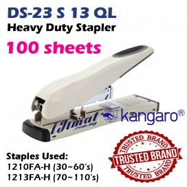 Kangaro Heavy Duty Stapler DS-23S13QL / 384556 High Quality Branded Stapler Punch Up To 100sheets