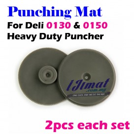 Deli 0152 Punching Mat For Heavy Duty Puncher Deli 0130 / deli 0150 Punch Accessories 1 Set 2pcs
