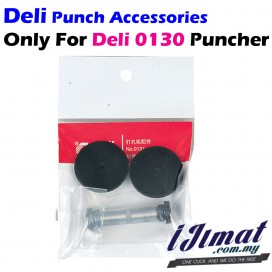 Deli 0131 Punching Mat & Punching Drills For Heavy Duty Puncher Deli 0130 Punch Accessories value set