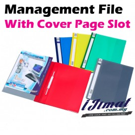 East-File 2807A PVC Management File A4 Good Quality With Transparent Cover