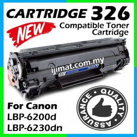 Canon 326 / Cartridge 326 High Quality Compatible Laser Toner Cartridge For Canon imageCLASS LBP-6230dn / LBP6230dn / LaserSHOT LBP-6200d / LBP6200d Printer Ink