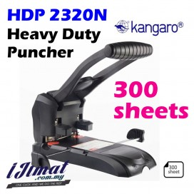 Kangaro HDP-2320N Two Holes Heavy Duty Punch 300 sheets Thickened Drilling Machine / Super Heavy Duty Puncher