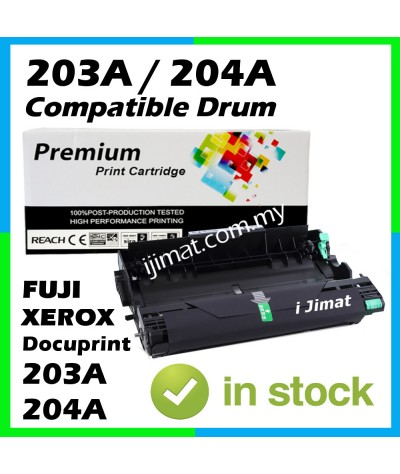 Fuji Xerox Docuprint 203 / 204 / 203A / 204A / DP203A / DP204A / DP203 / DP204 High Quality Compatible Drum Kit