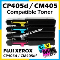 Fuji Xerox CP405 / CP405d / CM405 / CM405df Compatible Color Laser Toner Cartridge Black / Cyan / Magenta / Yellow / Full Set CT202033 CT202034 CT202035 CT202036