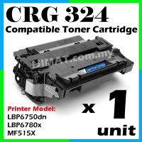 Canon 324 / Cartridge 324 Compatible Laser Toner For Canon MF515X / LBP6750dn / LBP6780x Printer Toner