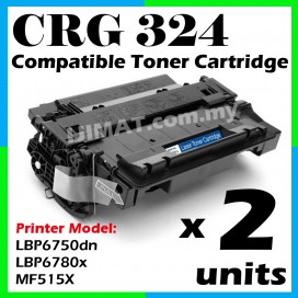 2 Units Canon 324 / Cartridge 324 Compatible Laser Toner For Canon MF515X / LBP6750dn / LBP6780x Printer Toner