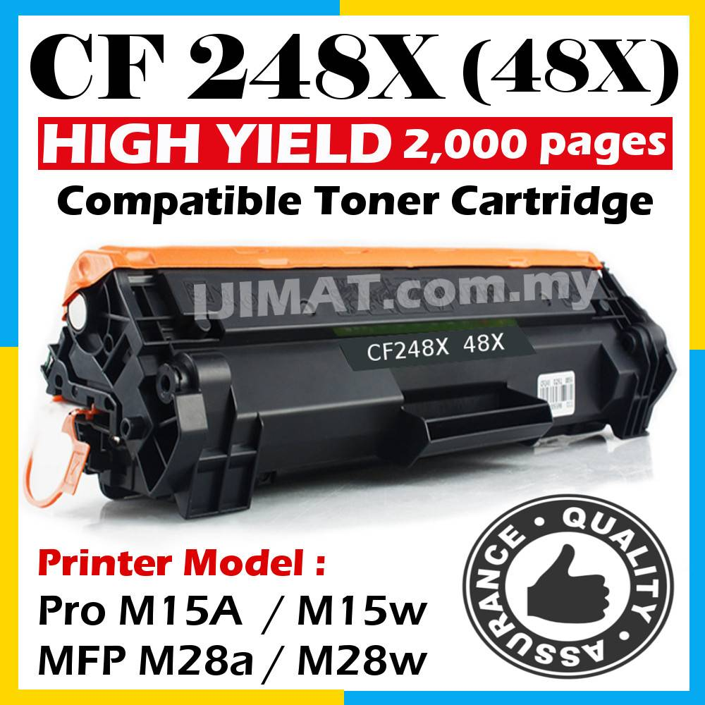 Original Model HP CF248A Compatible with HP CF248A Toner cartridges for HP M15W M16 MFP28 MFP29 M15//M15a//M15w//MFP M28a//M28w//M29a//M29w Printer Toner Cartridge