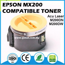 Epson M200 MX200 Compatible Laser Toner Cartridge 0709 WorkForce ALM200 AL-MX200 AL-M200DN AL-M200DW