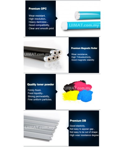 HP CE270A / CE271A / CE272A / CE273A Compatible Colour Laser Toner for HP Color LaserJet Enterprise CP5525 / 5525 / CP5525n / CP5525dn / CP5525xh Printer Ink