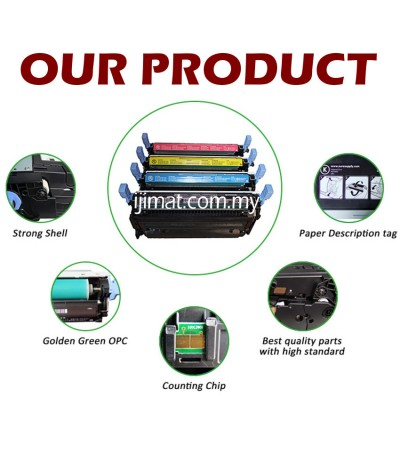 FULL SET Units  DELL C1660w / C1660 / 1660 Compatible Colour Toner Cartridge Black + Cyan + Magenta + Yellow Printer Ink