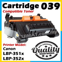 Canon Cartridge 039  / CRG 039 / CART 039 / CRG039 / Canon 039 Compatible Laser Toner Cartridge For Canon LBP351x / Canon LBP352x LBP 351x LBP 352x  LBP-351x LBP-352x Printer Ink