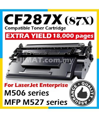 HP CF287X / 87X / CF287 High Yield Compatible Laser Toner Cartridge For HP LaserJet Enterprise M506 / M506dn / M506n / M506x / MFP M527z / MFP M527f / MFP M527dn / MFP M501dn Printer Ink