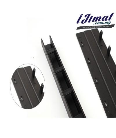 (LOOSE) Press Binder / Binding Strip / Lock Binder / Press Binding Comb / Binder Strip Black