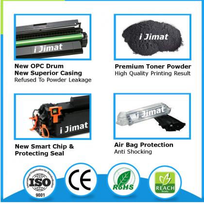 (B/C/M/Y) DELL C1760 C1765 C1760nw C1765nf C1765nfw Premium Compatible Laser Printer Toner Cartridge Black / Cyan / Magenta / Yellow