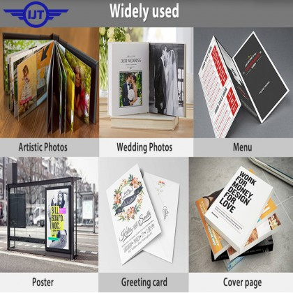 IJT DGP220 (DOUBLE SIDED) Waterproof Glossy Photo Paper A4 Size 220g 220gsm (Each Pack 50 Sheets)