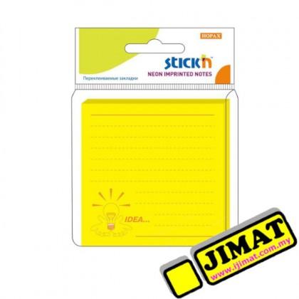 Hopax 21177 Neon Notes 3x3 (76x76mm)