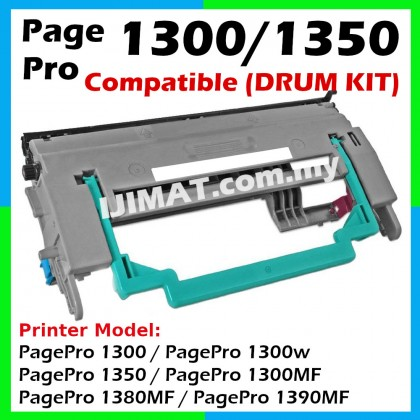 Konica Minolta 1300 / 1300w Compatible Drum Kit For Konica Minolta PagePro 1300 / 1350 / 1300MF / 1380MF / 1390MF / 1300w / 1350w Printer (Toner Not Included)