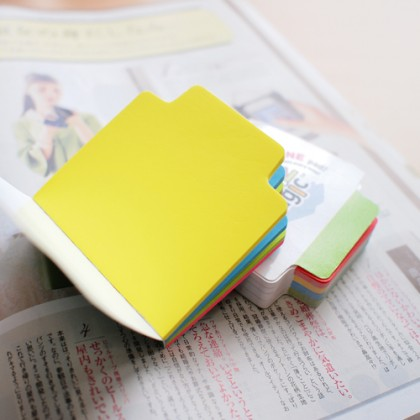 Hopax 21560 Neon Notes / Sticky Note / Tracking Notes (4 Colour)