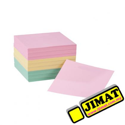 """Memo Refill 3"""" x 3"""" Colour"""