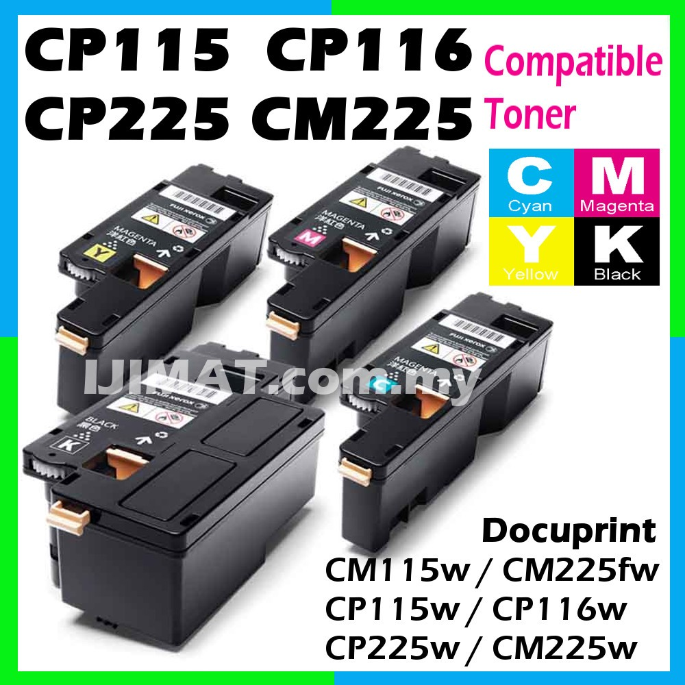 Fuji Xerox CM115 CM115w CM 115w CM225 CM225fw CM 225fw CP115