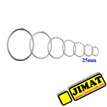 Card Ring 25mm (10pcs/pkt)