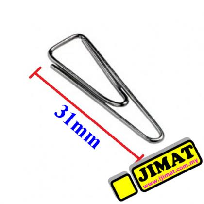 Triangle Paper Clip 31mm (100pcs/box)