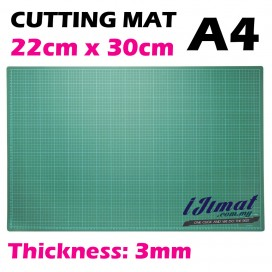 Cutting Mat A4 Size (30cm x 22cm) Thickness: 3mm