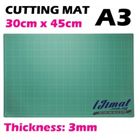 Cutting Mat A3 Size (30cm x 45cm) Thickness: 3mm