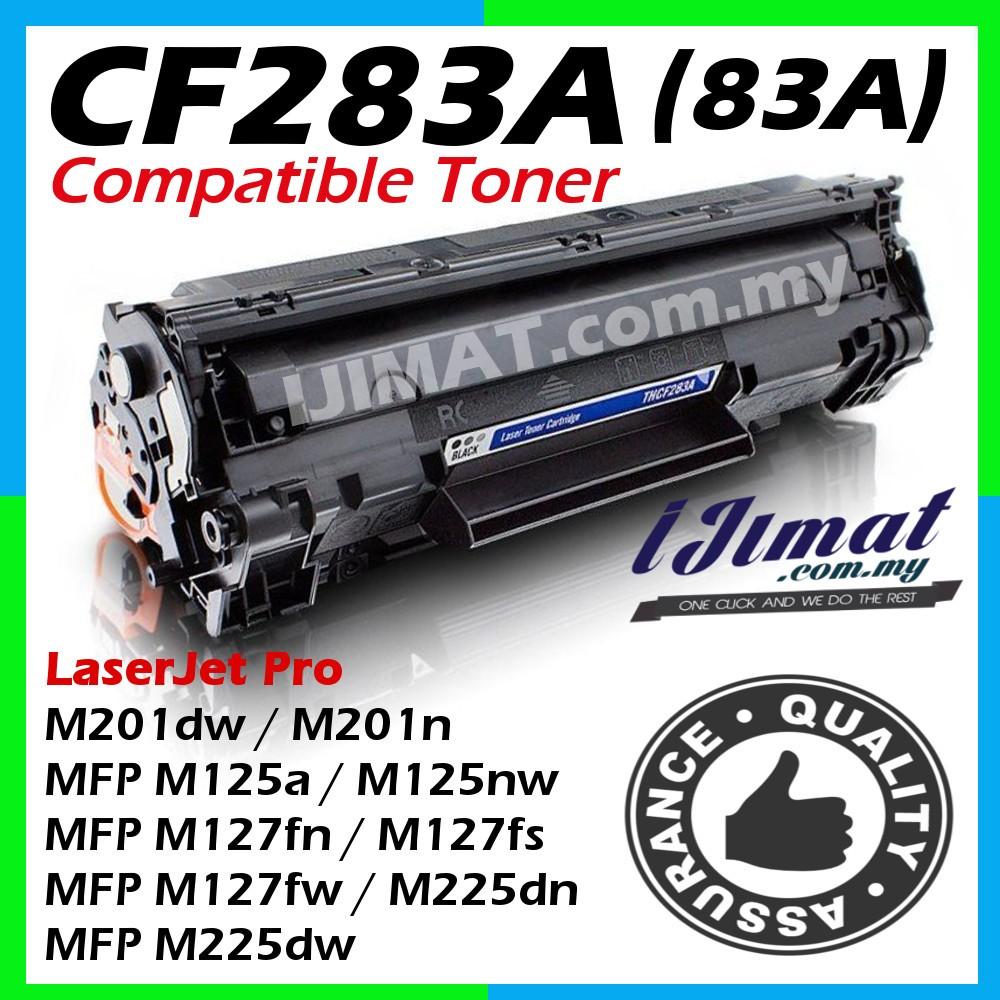 10P CF283A 83A Toner For HP LaserJet Pro M201dw M225dn M225dw MFP Ink Cartridge