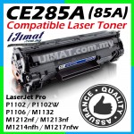 HP 285 CE285A 85A High Quality Compatible Laser Toner Cartridge For HP Laserjet P1102 / P1102W / M1212NF / M1217nfw / P1100 / P1102W / Pro M1132 / P1100 / Pro M1130 / M1132 / M1210 / M1214nfh Printer Ink
