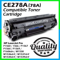 HP CE278A / CE278 / 78A High Quality Compatible Toner Cartridge For HP LaserJet Pro HP LaserJet Pro P1560 / P1566 / P1567 / P1568 / P1569 / P1606dn / M1530 / M1536dnf / M1537dnf / M1538dnf / M1539dnf Printer Toner
