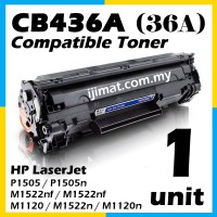 HP CB436A / 36A High Quality Compatible Toner Cartridge For HP Laserjet M1120 / M1120a / M1120h M1120n / M1120w / M1522n / M1522nf / M1522nt / P1503 P1503n / P1504 / P1504n / P1505 P1505n / P1506 / P1506n Printer Toner