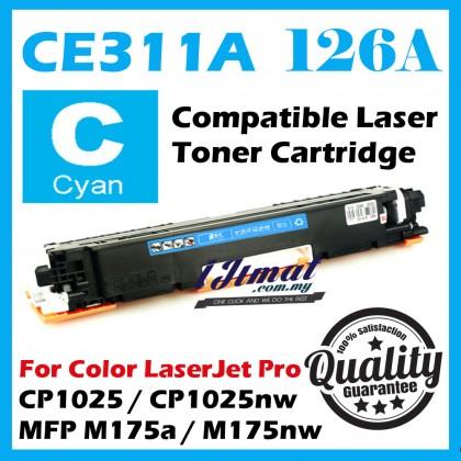 (B/C/Y/M) HP 126A CE310A / CE311A / CE312A / CE313A High Quality Compatible Colour Laser Toner Cartridge For HP LaserJet Pro CP1025 / CP1025nw / MFP M175 / MFP M175a / MFP M175nw / MFP M275nw Printer Ink