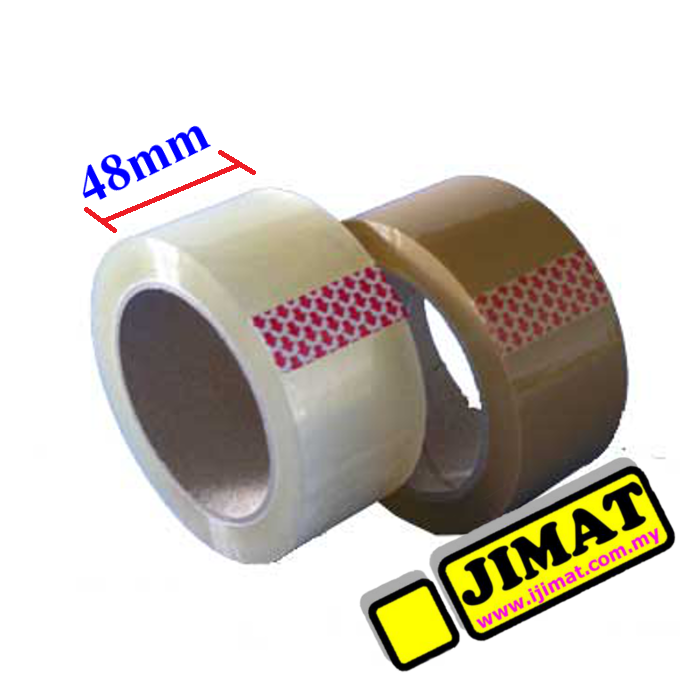 Opp Tape 48mm X 90y Brown