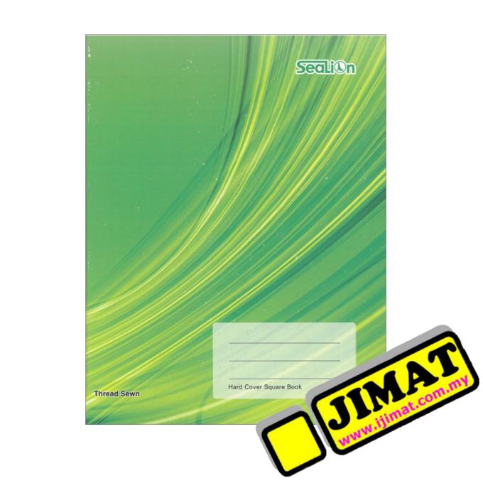 Hard Cover Foolscap Book Single Line Sealion 500pgs
