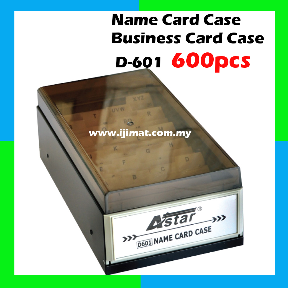 Astar D 601 Business Card Case Name Card Case 600 Cards