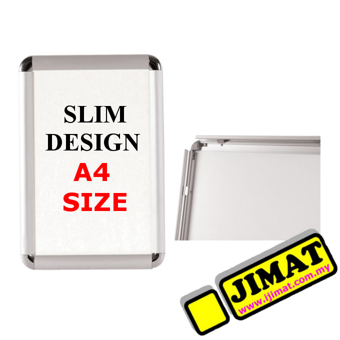 Slim Wall Mounted Poster Frame A4 Size