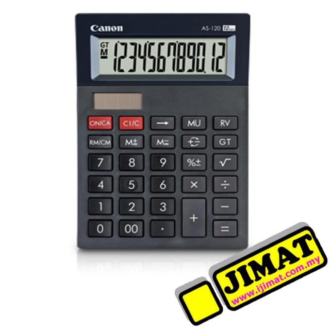 Canon Calculator As 120 12digits