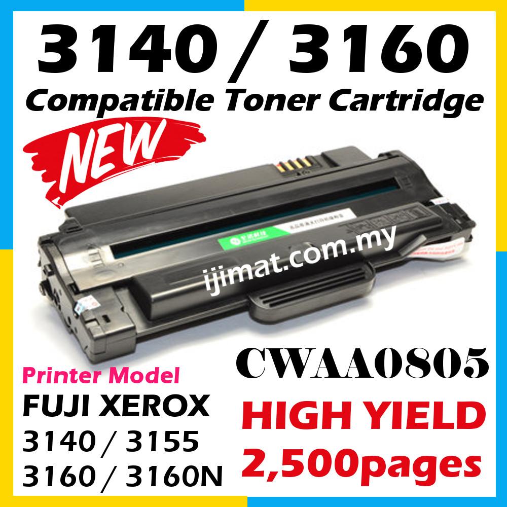 compatible laser toner cartridge fuji xerox phaser 3160 phaser 3160n phaser 3155 phaser. Black Bedroom Furniture Sets. Home Design Ideas
